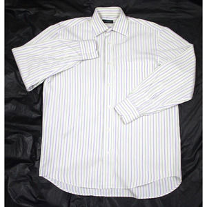 Canali Long Sleeve Button Front Shirt Size Small